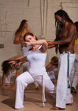 Smiling Capoeira Teacher Stock Image