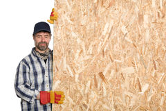 Smiling carpenter Royalty Free Stock Photography