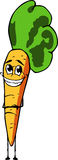 Smiling carrot Stock Photo
