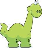 Smiling Cartoon Apatosaurus Stock Photos