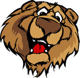 Smiling Cartoon Bear Mascot Graphic Royalty Free Stock Photos
