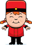 Smiling Cartoon Bellhop Stock Photography