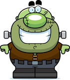 Smiling Cartoon Frankenstein Royalty Free Stock Images