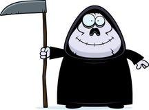Smiling Cartoon Grim Reaper Royalty Free Stock Images