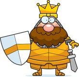 Smiling Cartoon King Stock Image