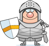Smiling Cartoon Knight Stock Image