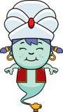 Smiling Cartoon Little Genie Royalty Free Stock Image