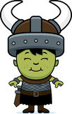 Smiling Cartoon Orc Child Royalty Free Stock Photo