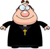 Smiling Cartoon Priest Royalty Free Stock Photos