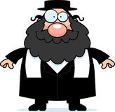 Smiling Cartoon Rabbi Royalty Free Stock Images