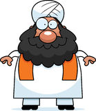 Smiling Cartoon Sikh Royalty Free Stock Photos