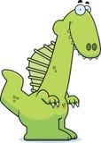 Smiling Cartoon Spinosaurus Royalty Free Stock Photos