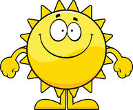 Smiling Cartoon Sun Royalty Free Stock Image