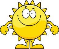 Smiling Cartoon Sun Royalty Free Stock Image