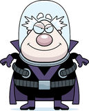 Smiling Cartoon Supervillain Royalty Free Stock Images