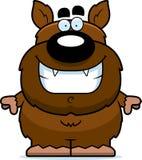 Smiling Cartoon Werewolf Royalty Free Stock Photo