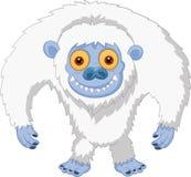 Smiling cartoon yeti. Illustration of Smiling cartoon yeti Stock Images