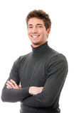 Smiling casual guy Stock Image