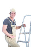 Smiling charismatic handyman Royalty Free Stock Photography