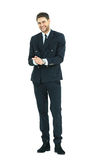 Smiling cheerful business man Royalty Free Stock Images
