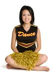 Smiling Cheerleader Royalty Free Stock Photo