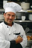 Smiling chef Royalty Free Stock Image
