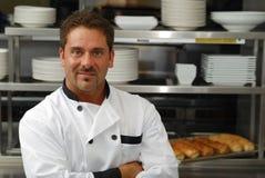 Smiling chef Stock Photos