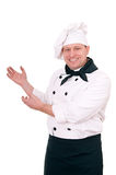 Smiling chef Stock Photos