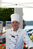 Smiling Chef royalty free stock photo