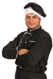 Smiling chef man Royalty Free Stock Images