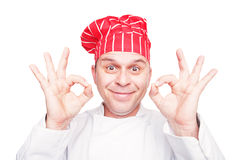 Smiling chef Royalty Free Stock Photos