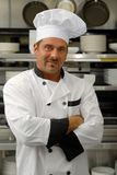 Smiling chef in uniform Royalty Free Stock Image