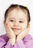 The smiling child Royalty Free Stock Images