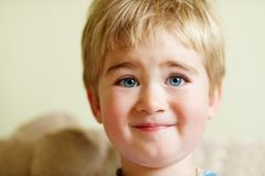 Smiling child Stock Photos