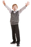 Smiling child gesturing Royalty Free Stock Photography