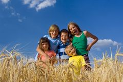 Smiling children Royalty Free Stock Photo