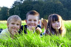 Smiling children Stock Image