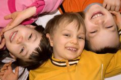 Smiling children Stock Photography