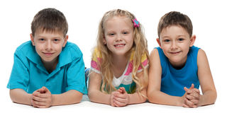 Smiling children Royalty Free Stock Image