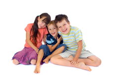 Smiling Children stock photos