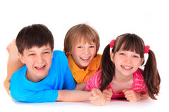 Smiling children Stock Photos