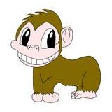 Smiling Chimpanzee Royalty Free Stock Photos