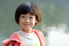 smiling china child Royalty Free Stock Photography