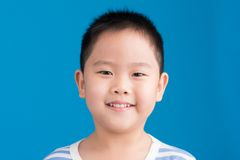 Smiling Chinese kid Stock Photos