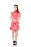 Smiling Chinese woman royalty free stock photos