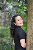 A smiling chinese woman Stock Images
