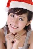 Smiling Christmas beauty Royalty Free Stock Photo