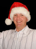 Smiling Christmas Man Royalty Free Stock Photo