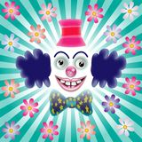 The smiling clown Royalty Free Stock Images
