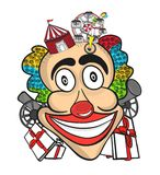 Smiling clown Royalty Free Stock Images